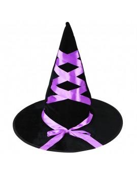 chapeau de sorcière étoile bleu noir velours mauve araignée halloween tahiti fenua shopping