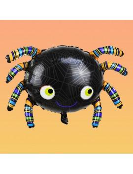 ballon araignée à gonfler hélium air déco halloween décoration balloon tahiti fenua shopping