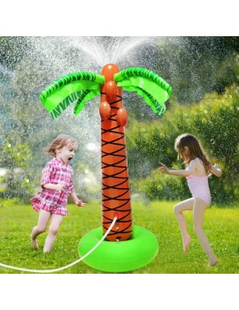 arroseur cocotier tropical eau fun pool water game bouée tahiti fenua shopping