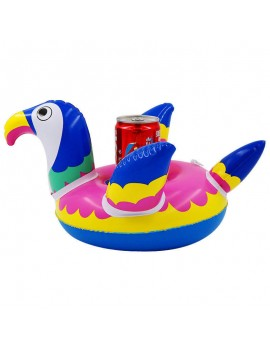 porte gobelet toucan plage mer pool party bouée float tahiti fenua shopping