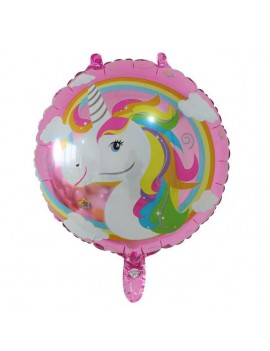 ballon licorne rose fête party unicorn kids enfants décoration anniversaire tahiti fenua shopping
