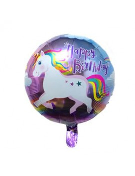 ballon licorne happy birthday anniversaire unicorn décoration fête fun tahiti fenua shopping