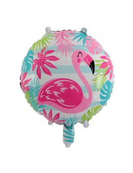 ballon flamingo flamant rose anniversaire fête birthday tropical tahiti fenua shopping