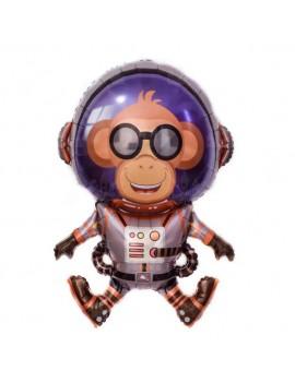 ballon monkey galaxie singe anniversaire kids garçon fête deco tahiti fenua shopping