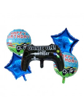 set ballons video game fête anniversaire garçon kids tahiti fenua shopping