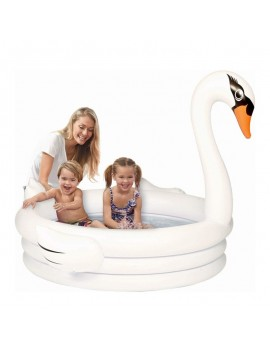 piscine cygne blanc enfants kids eau water fun tahiti fenua shopping