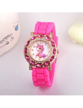 montre licorne strass enfant girls kids watch unicorn tahiti fenua shopping