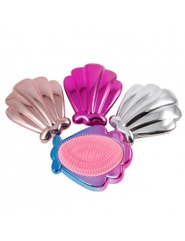 brosse shell pocket poche coquillage cheveux accessoire coiffure tahiti fenua shopping
