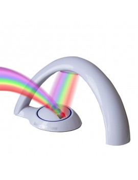 lampe projection rainbow arc en ciel maison déco lumière light tahiti fenua shopping