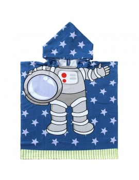 peignoir plage astronaute garçon kids beach serviette galaxie tahiti fenua shopping