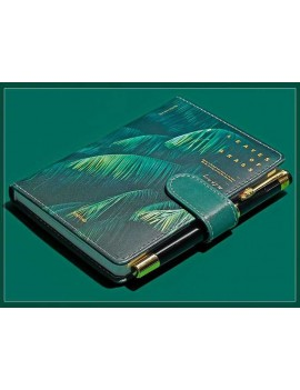 calepin tropiques tropical vert green papeterie notebook tahiti fenua shopping