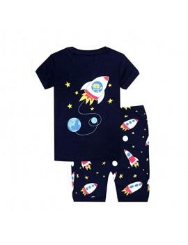 pyjama galaxie bleu foncé garçon enfant tahiti fenua shopping