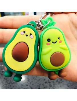 porte-clés avocado avocat tropical accessoire mignon cute fruit vert green tahiti fenua shopping