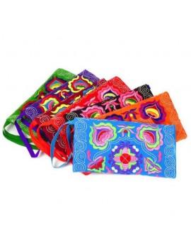 sac rectangle color bohemian bandoulière tendance coloré couleurs bag rangement accessoire tahiti fenua shopping