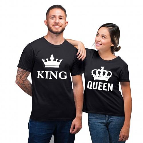 tshirt couple queen king valentine's day couple goal partenaire royal tahiti fenua shopping