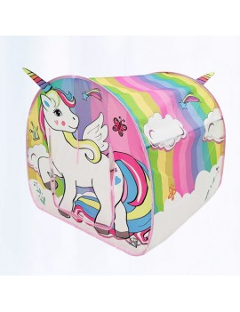 tente licorne unicorn tent pop up rainbow arc en ciel chambre maison enfant kids tahiti fenua shopping