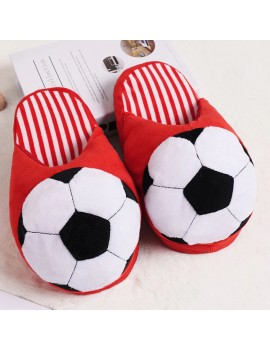 pantoufles foot garçons enfant kids chaussons slippers doux fun rouge red dormir chambre tahiti fenua shopping