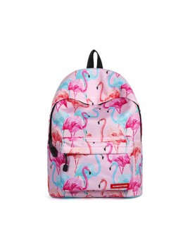 sac à dos flamingo flamant rose pink bag backpack school tropical tropic tahiti fenua shopping