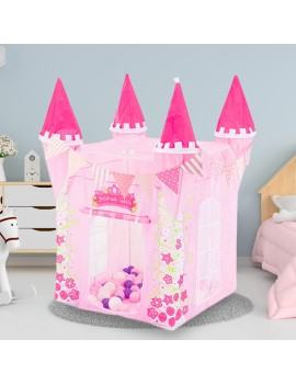 tente de château de princesse princess tent castle pink rose kids kid enfants fun cute tahiti fenua shopping