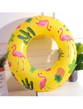 bouée tropiques anneau tropical tropicale tropic pool float yellow jaune piscine beach tahiti fenua shopping