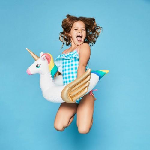 bouée licorne kids enfant unicorn pool float piscine water plage beach tahiti fenua shopping