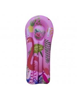 bouée planche flamant rose kids tropicale tropic pool float piscine plage tahiti fenua shopping