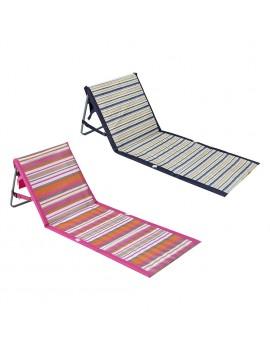 chaise de plage accessoire beach piscine pool tranquille rose noir pink black tahiti fenua shopping