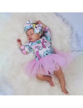 body bébé licorne unicorn robe dress tutu baby babies girl vêtement habillement tahiti fenua shopping
