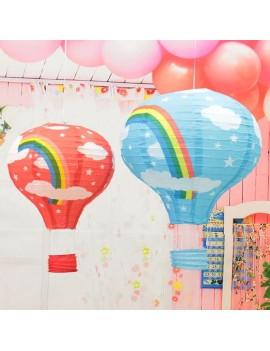 lanterne montgolfière air déco decoration kids maison fête party coloré tahiti fenua shopping