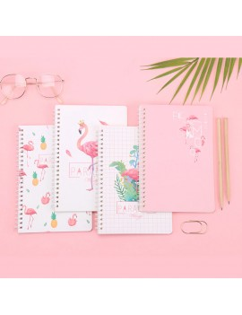 cahier spirale flamingo flamant rose notes notebook école school papeterie tahiti fenua shopping