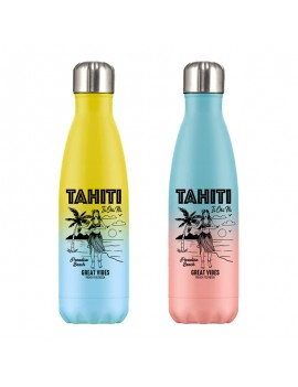 bouteille gradient tahiti acier inoxydable isotherme fresh boisson drink tahiti polynesie ia ora na fenua shopping