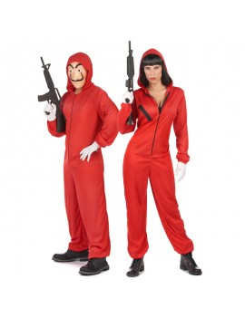 casa de papel tv serie braquage costume red tahiti fenua shopping
