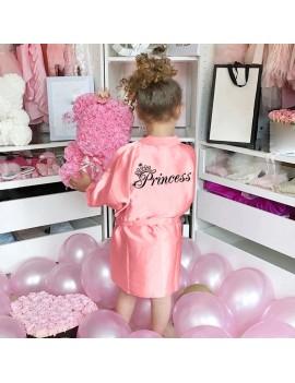 peignoir princesse girl girly pink rose princess habillement tahiti fenua shopping