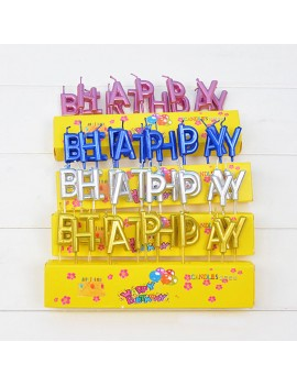 bougies happy birthday gold silver blue pink anniversaire fête party candle tahiti fenua shopping
