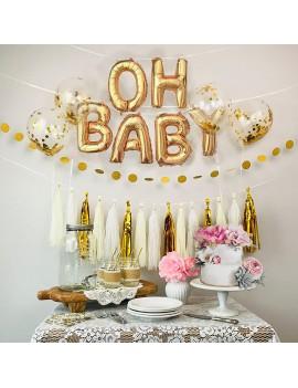 ballon oh baby babies bébé fête party shower balloon tahiti fenua shopping