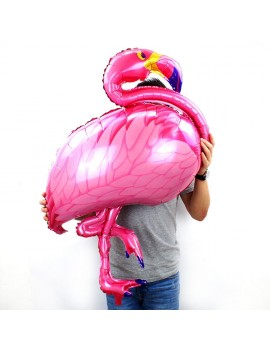 ballon flamingo pink rose tropic tropical tropiques fête party déco anniversaire flamant tahiti fenua shopping