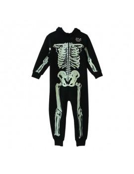 combinaison squelette glow in the dark skull halloween fête party habillement tahiti fenua shopping