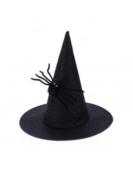chapeau sorcière witch hat spider araignée noir black halloween party tahiti fenua shopping