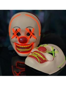masque clown mask halloween party fete circus cirque light lumineux tahiti fenua shopping