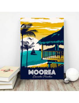 tableau souvenir moorea
